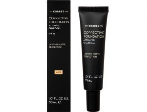 KORRES Corrective Foundation Activated Charcoal SPF15 ACF2 30ml