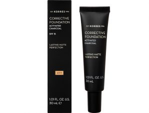KORRES Corrective Foundation Activated Charcoal SPF15 ACF3 30ml