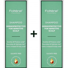 FOLTENE PHARMA Shampoo Dermoprotective For Sensitive Scalp 200ml 1+1 Δώρο