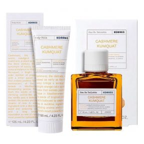 KORRES Special Offer Cashmere Kumquat Eau de Toilette 50ml+ Cashmere Kumquat Body Milk 125ml