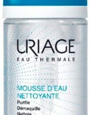 URIAGE Mousse D'eau Nettouante &Cleansing Make-up Remover Foam 150 ml