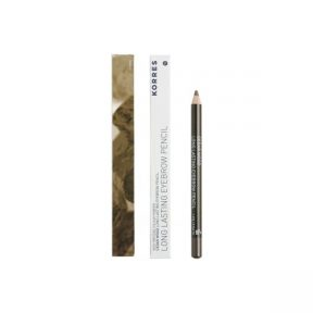 KORRES Long Lasting Eyebrow Pencil Dark Shade No1