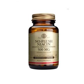 SOLGAR No-Flush Niacin 500mg 50 Veg.Caps