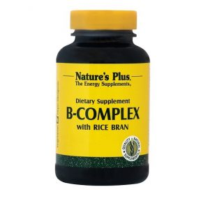 NATURE'S PLUS B-Complex with Rice Bran 90Tabs