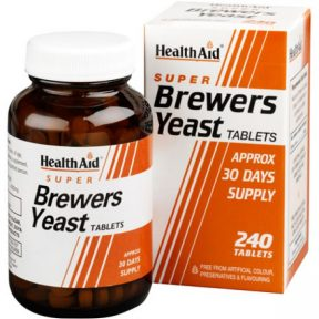 HEALTH AID Brewers Yeast 240 Tabs