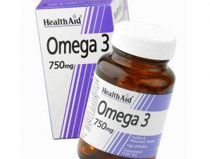 HEALTH AID Omega-3 750mg 60 Caps
