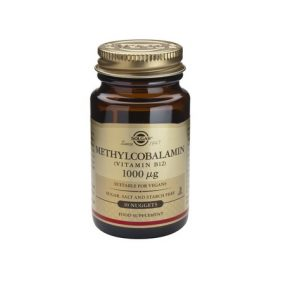SOLGAR Vitamin B-12 1000mg Methylcobalamin 30 Nuggets