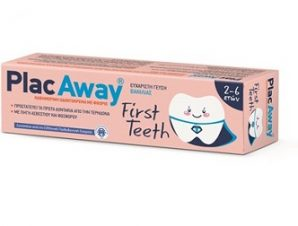 PLAC AWAY First Teeth 2-6 ετών Βανίλια 50ml