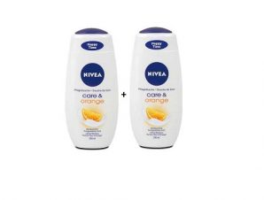 NIVEA CARE & ORANGE 250ml 1+1 ΔΩΡΟ