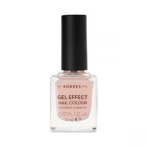 KORRES Gel Effect Nail Colour 04 Peony Pink 11ml