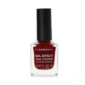 KORRES Gel Effect Nail Colour 59 Wine Red 11ml