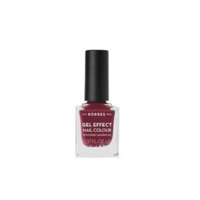 KORRES Gel Effect Nail Colour 47 Berry Addict 11ml