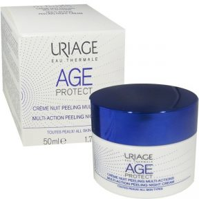 URIAGE Eau thermale age protect multi-action peeling night cream 50ml