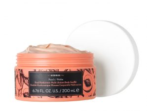 KORRES Dual Hyaluronic Multi-Action Body Souffle Peach 200ml