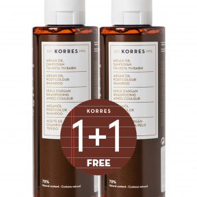 KORRES PROMO ARGAN OIL SHAMPOO 250 ML 1+1 ΔΩΡΟ.