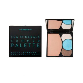 Korres Sea Minerals Summer Palette Multi-PurposeSun-Kissed Look Blue Waves 13 gr.