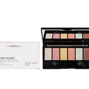 Korres Volcanic Minerals Eyeshadow Palette The Candy Nudes 6gr.
