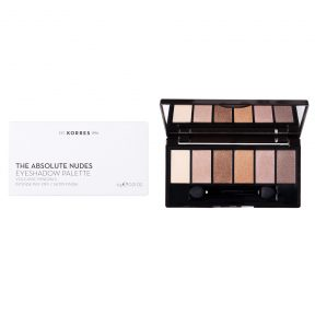 Korres Volcanic Minerals Eyeshadow Palette The Absolute Nudes 6gr.