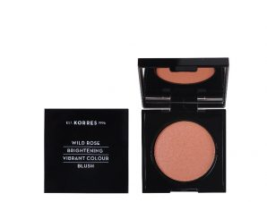Korres Wild Rose Brightening Vibrant Colour Blush Luminous Apricot No.42 Άγριο Τριαντάφυλλο Ρουζ 5.5gr